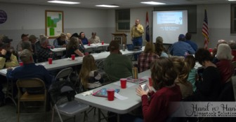 Speaking to the SW  MO Cattlemen