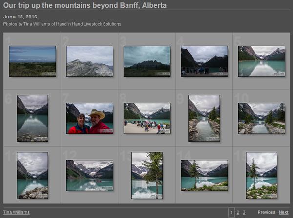 Photos of beyond Banff