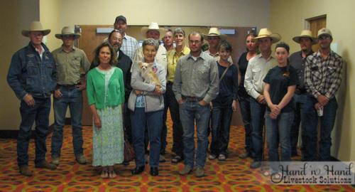 The Sheridan Stockmanship School group