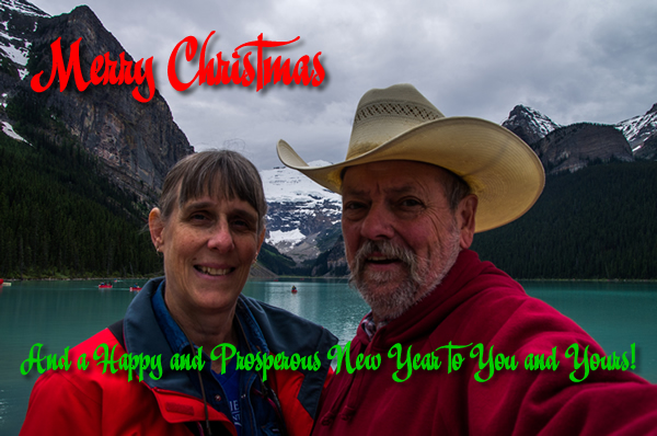 Merry Christmas from Richard and Tina